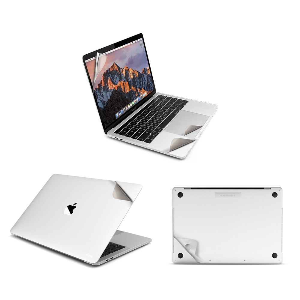 "Bộ miếng dán Mac Guard Full Body 5 in 1 cho Macbook Pro 13""-space prey / silver"
