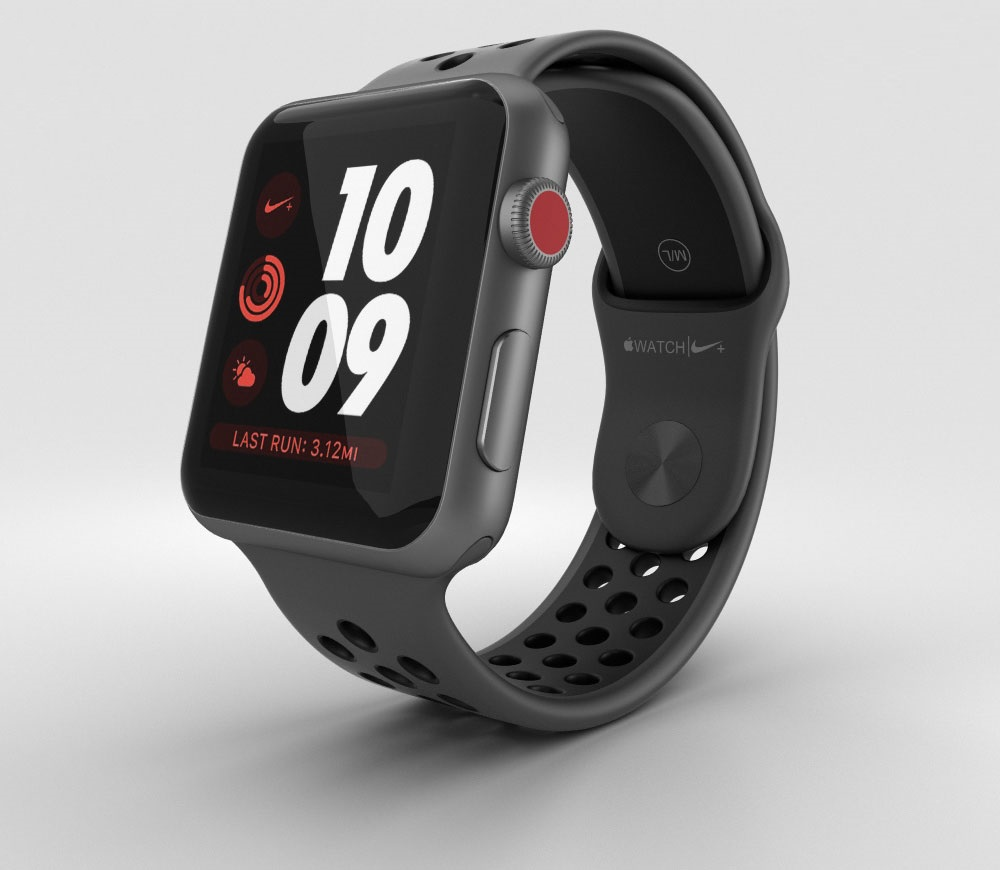 apple watch series 3 nike space gray gps apple ch nh. Black Bedroom Furniture Sets. Home Design Ideas