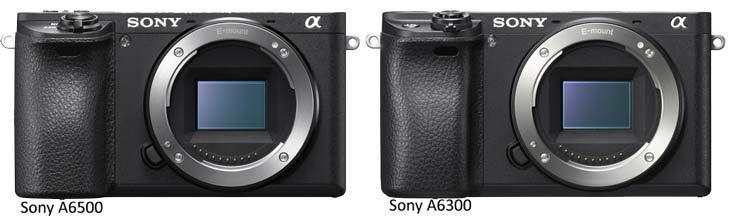 Sony A6500 và Sony A6300