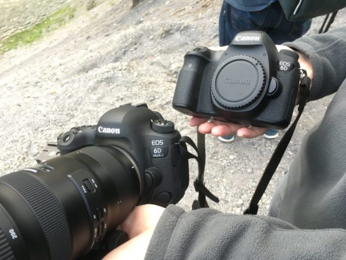 So sánh máy ảnh Canon 6D Mark II và Canon 6D