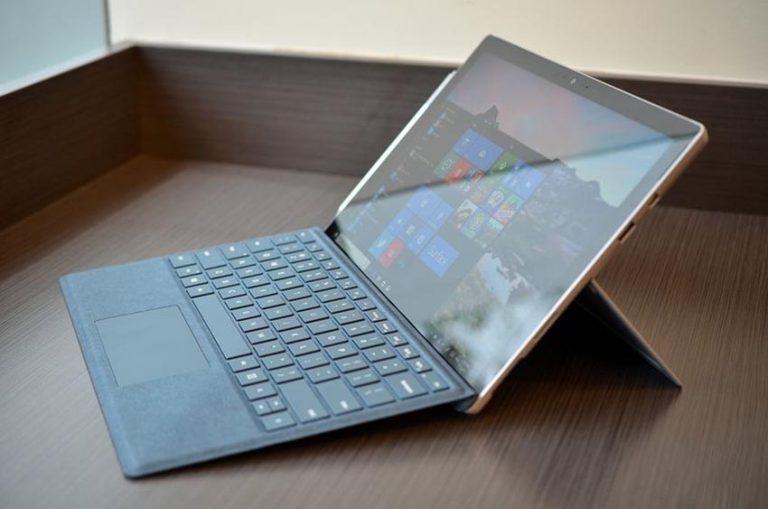 Trên tay Surface Pro 2017