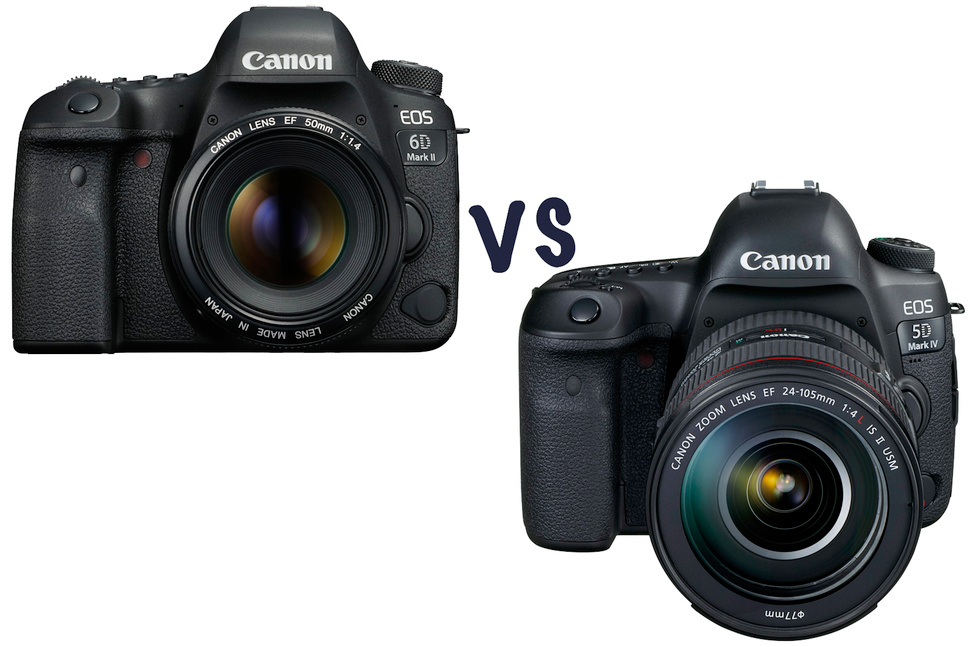 So sánh Canon 6D Mark II vs Canon 5D Mark IV