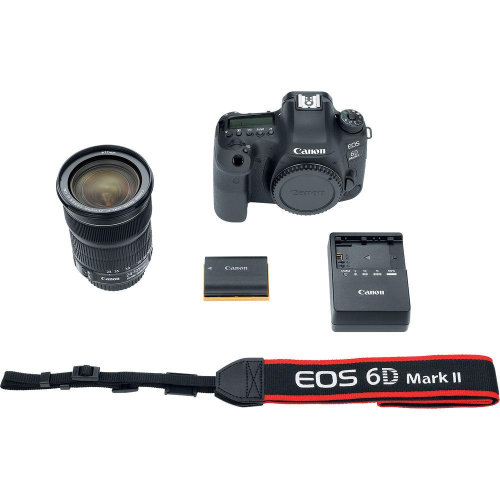Canon 6D Mark II: đột phá với màn hình xoay lật đầu tiên trên dòng Full Frame