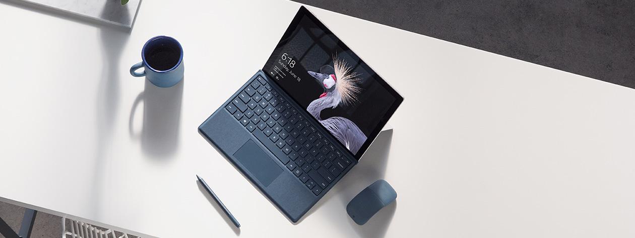 Microsoft ra mắt Surface Pro 2017 có bút, pin khủng 13.5 giờ, bẻ được 165 độ