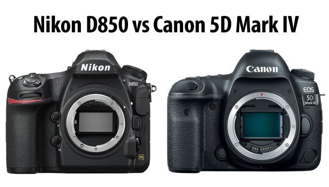 Nikon D850 và Canon 5D Mark IV – Ai mạnh hơn?
