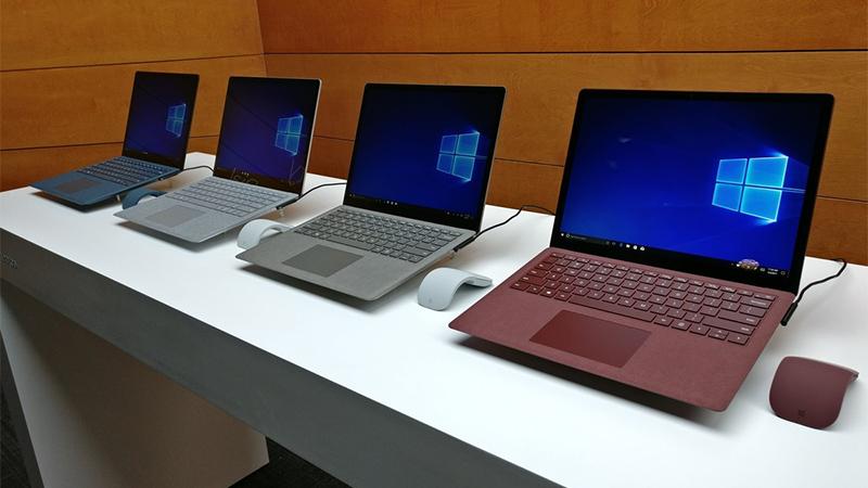 Surface Laptop : Thiết kế tuyệt đẹp, vừa mỏng vừa nhẹ, kẻ thách thức Macbook