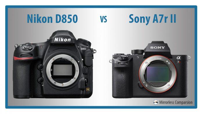 9 sự khác biệt cơ bản giữa Nikon D850 và Sony A7r II