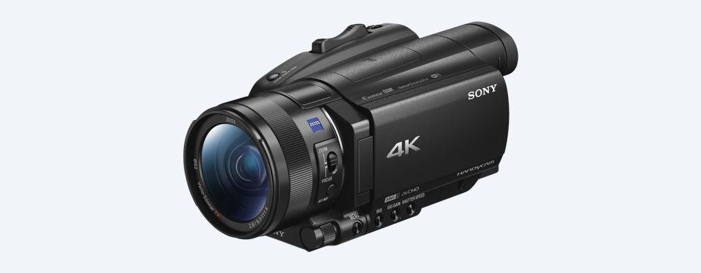 Trên tay Sony Handycam AX700: máy quay chuyên dụng với cảm biến của RX10 IV: 960 fps, S-log
