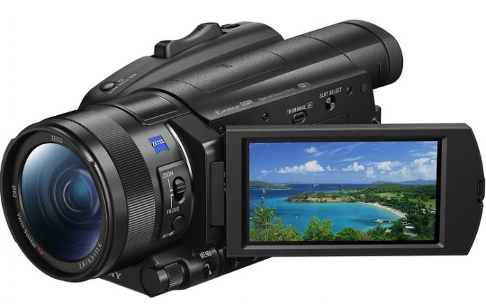Sony ra mắt máy quay 4K FDR-AX700 được thiết kế cho mục đích sản xuất phim tiên tiến nhất hiện nay