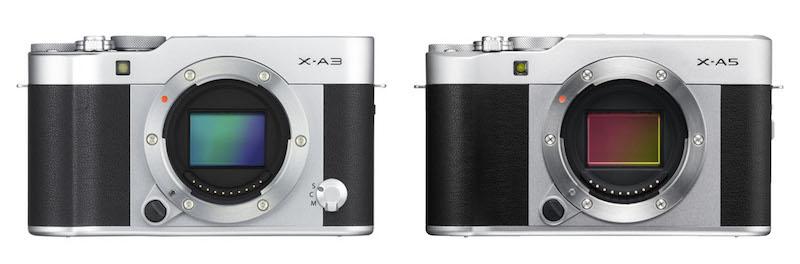 11 Điểm khác biệt giữa Fujifilm X-A5 vs X-A3