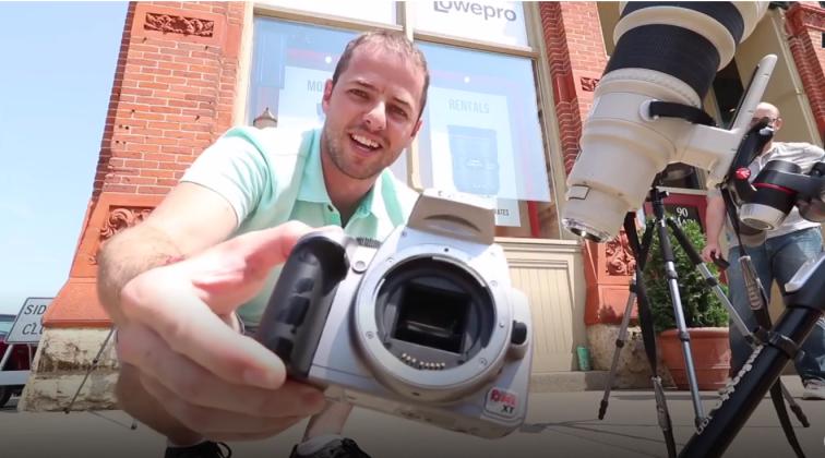 Điều gì sẽ xảy ra khi đặt máy ảnh cùng ống kính trực tiếp dưới ánh nắng Mặt Trời?