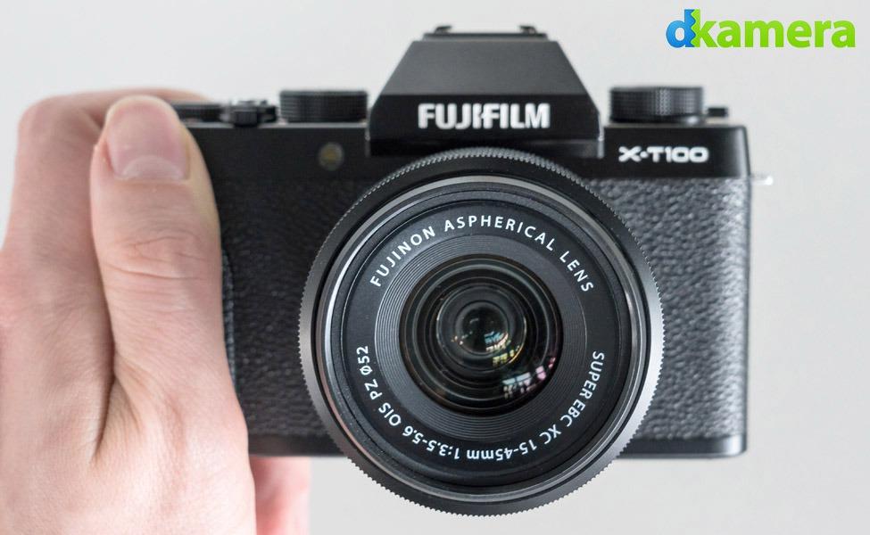 Trên tay Fujifilm X-T100: Phép lai của X-T20 và X-A5 với mức giá hợp lý