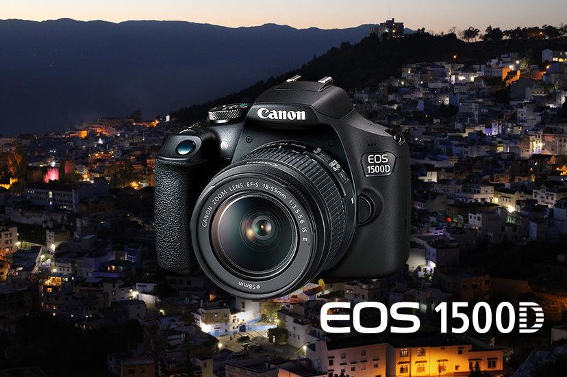 Canon Ra Mắt EOS 1500D: Sự Chuyển Tiếp Mượt Mà từ Chụp Ảnh Bằng Điện Thoại Thông Minh sang Chụp Ảnh Bằng DSLR