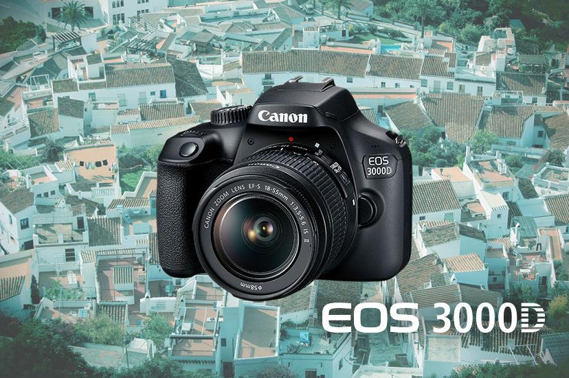 Canon 3000D – Máy dành cho người dùng DSLR lần đầu