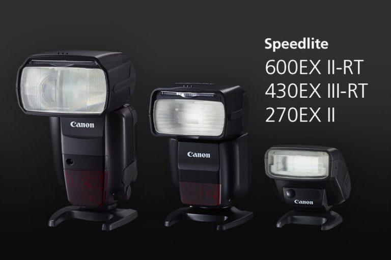 Hướng dẫn chọn đèn flash Canon Speedlite nhanh