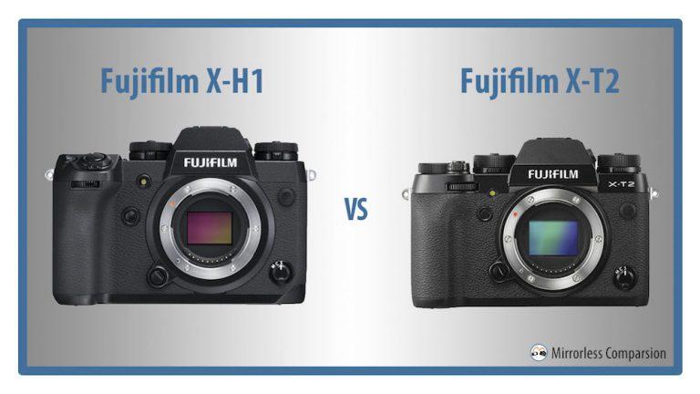 So sánh X-H1 và X-T2: Tưởng không khác mà khác không tưởng