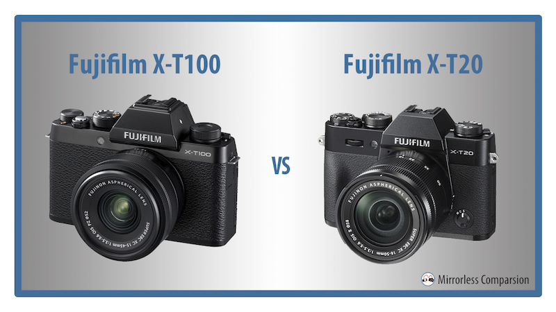 So sánh Fujifilm X-T100 và X-T20: Khi măng non gặp tre già