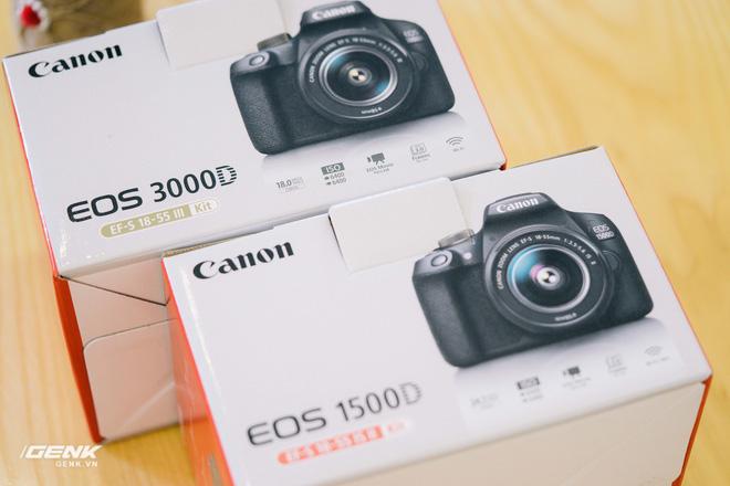 Đánh giá bộ đôi máy ảnh Canon 3000D và 1500D – Nhỏ, nhẹ, rẻ, liệu có đáng mua?