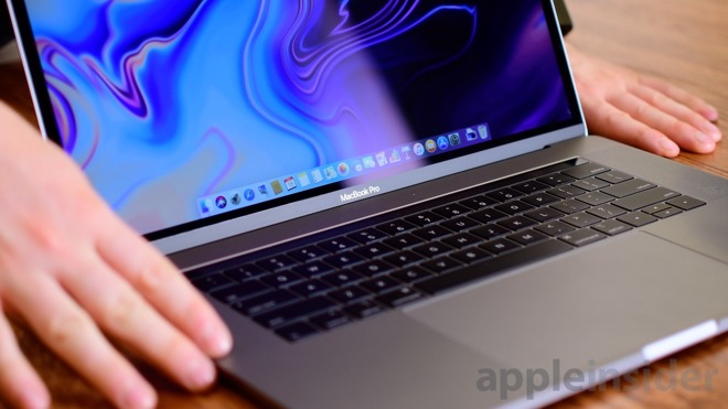 Trên tay Macbook Pro Touch Bar 2018 15inch core i7