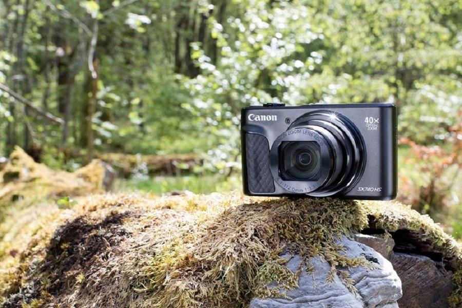 Canon giới thiệu PowerShot SX740 HS: nâng cấp 4K 30fps, tốc độ chụp 10fps, giá 399$