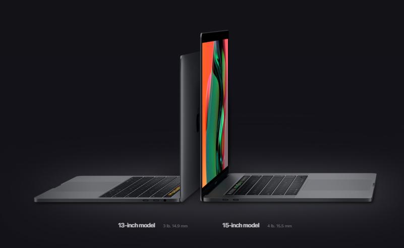 Những điểm mới lạ của dòng Macbook Pro 2018