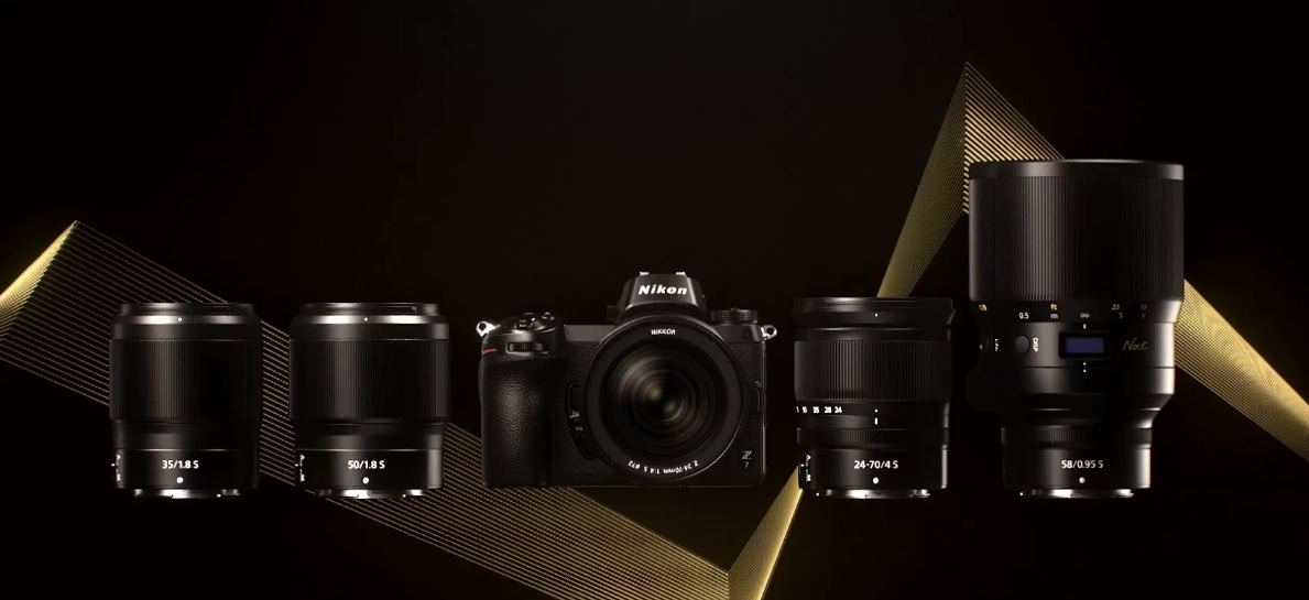 Nikon công bố chính thức dòng sản phẩm ngàm Z mới: 2 mirrorless Z6, Z7 và dòng ống kính S