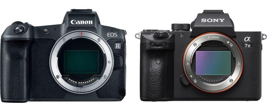 So sánh chi tiết thông số kỹ thuật Canon EOS R và Sony a7 III