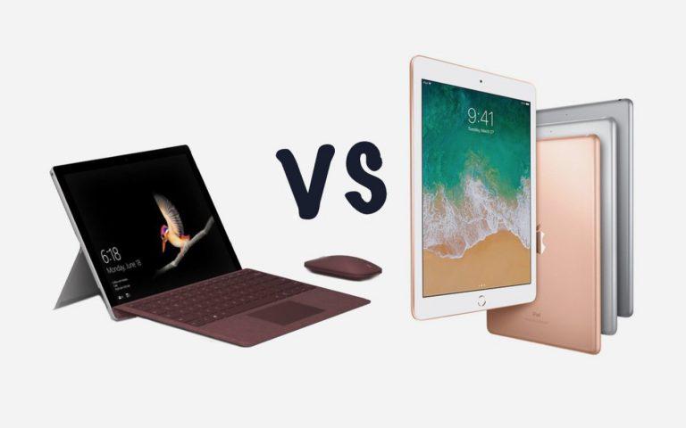 So sánh Surface Go vs iPad 9.7inch