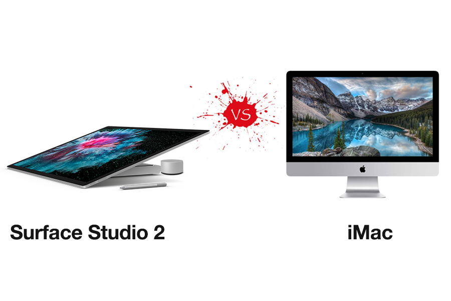 So sánh Surface Studio 2 vs iMac