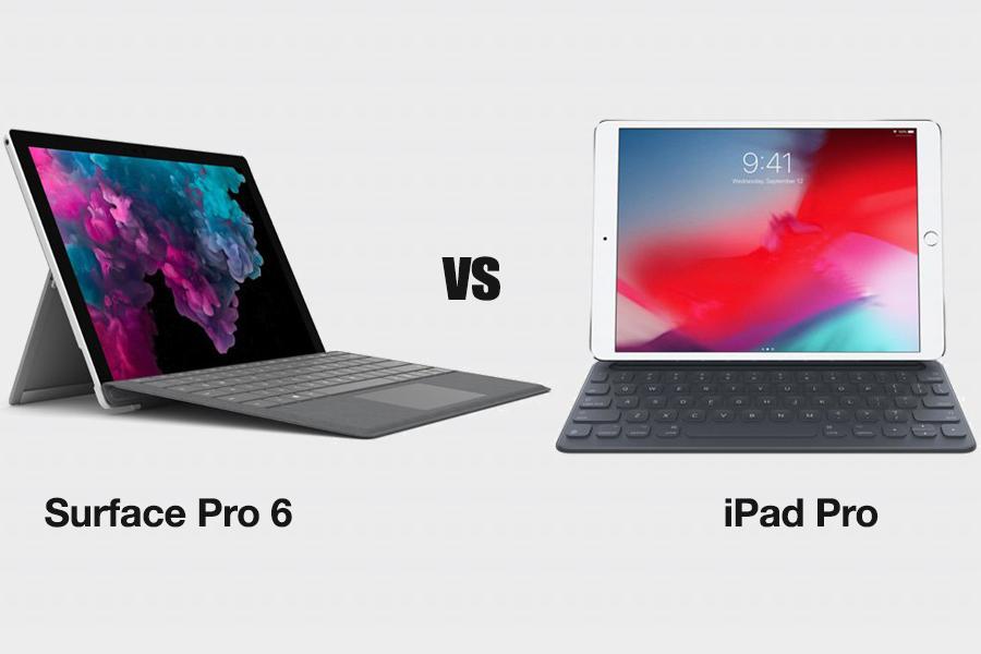 Microsoft Surface Pro 6 vs Apple iPad Pro – Cuộc thách thức của máy tính bảng