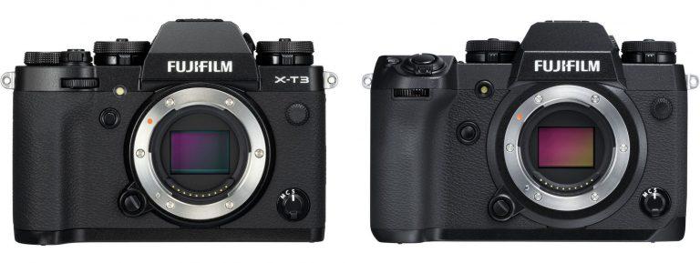 10 điểm khác biệt chính giữa Fujifilm X-T3 và X-H1