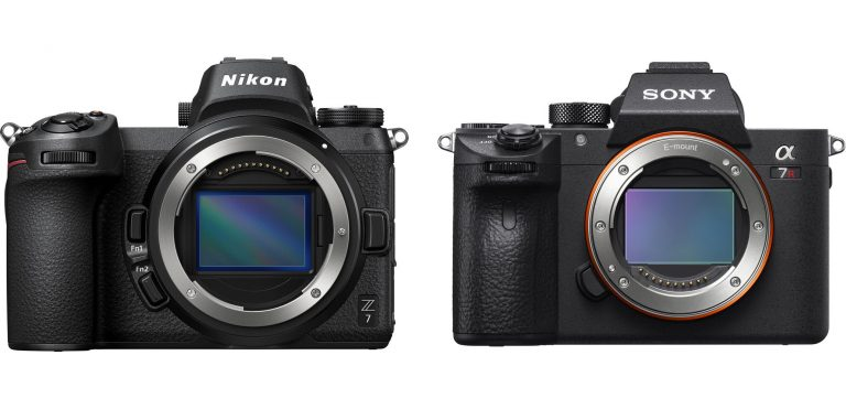 So sánh chi tiết thông số kỹ thuật Nikon Z7 và Sony a7R III