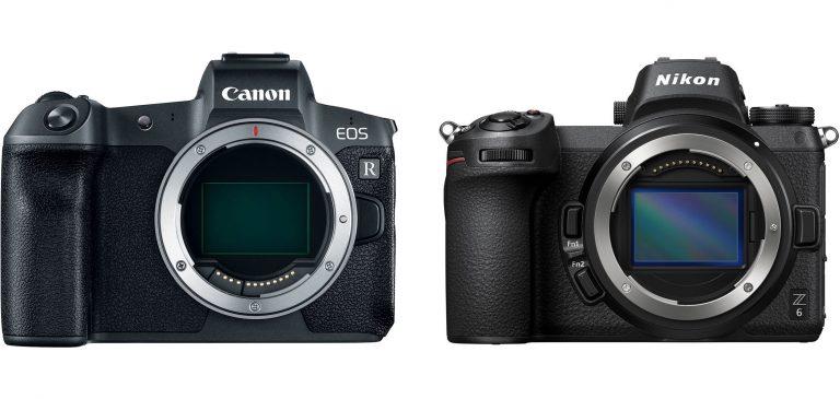 So sánh chi tiết thông số kỹ thuật Canon EOS R và Nikon Z6