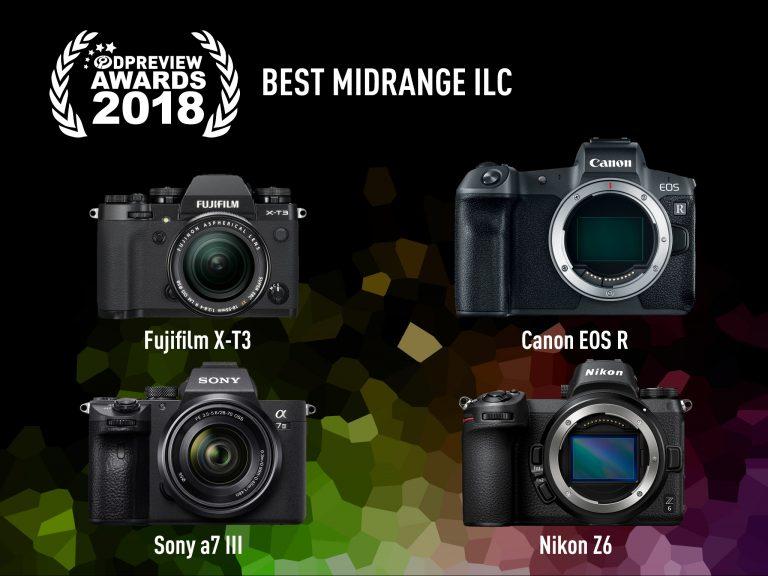 Top 4 máy ảnh ILC tầm trung xuất sắc nhất đoạt giải thưởng DPReview 2018