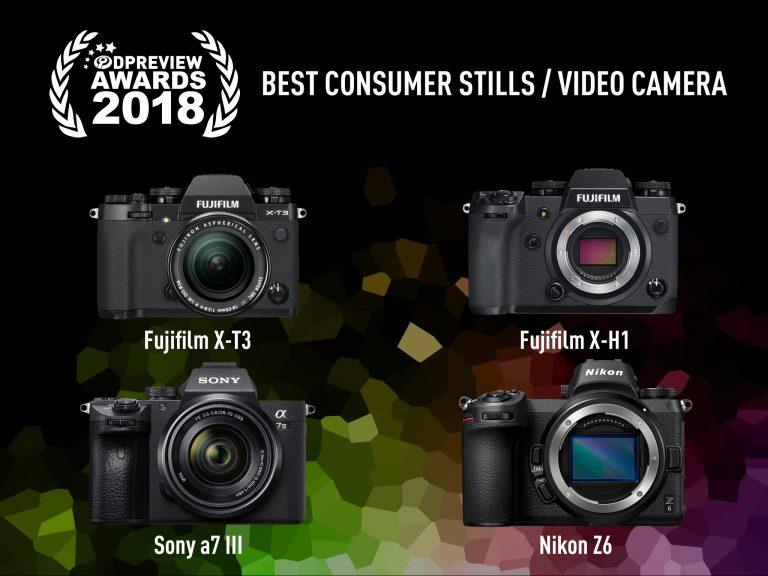 Top 4 máy ảnh chụp/quay video xuất sắc nhất đoạt giải thưởng DPReview 2018