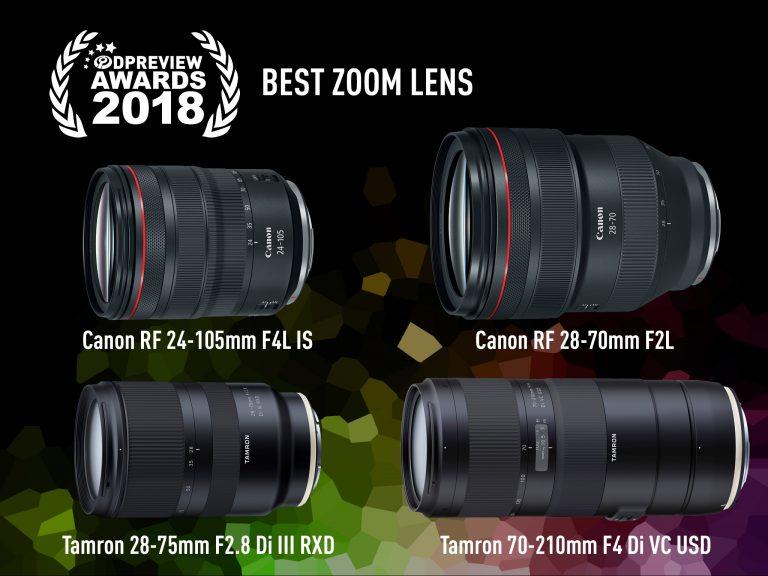 Top 4 ống kính zoom xuất sắc nhất đoạt giải thưởng DPReview 2018