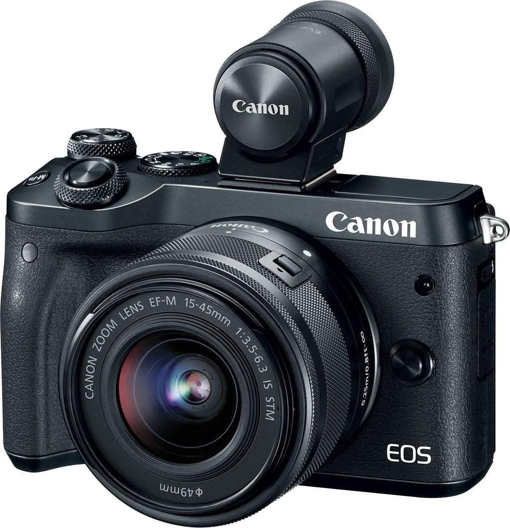 Canon EOS M6: Gọn nhỏ mạnh mẽ chụp tốt nhưng giá bán khá cao cả body và hệ ống kính ngàm M