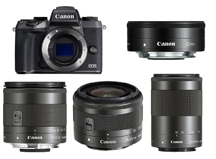 Top 10 ống kính tốt nhất cho Canon EOS M6, M5, M50, M100, M10, M3