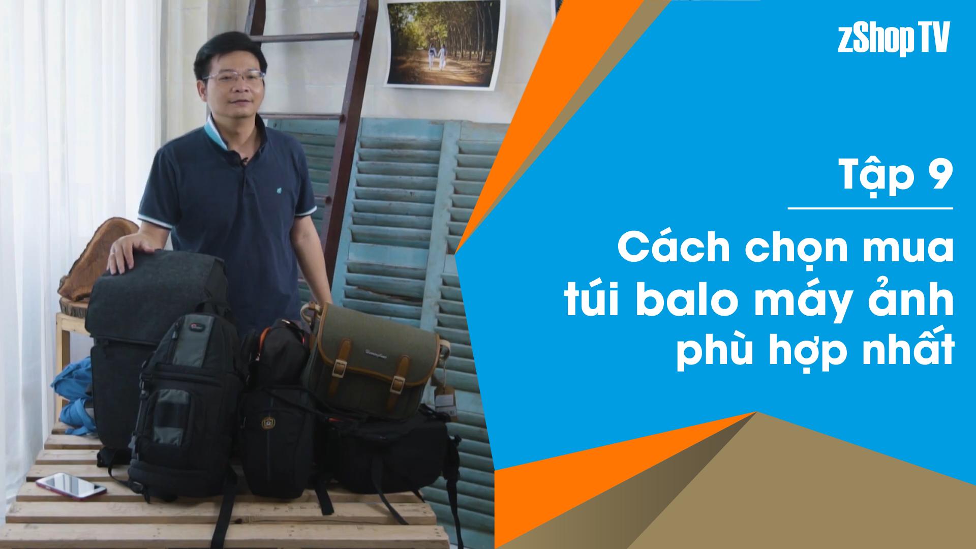 Dr Thanh – Giải Đáp Máy Ảnh   Tập 09: Tổng quan về túi – ba lô máy ảnh và chọn loại phù hợp
