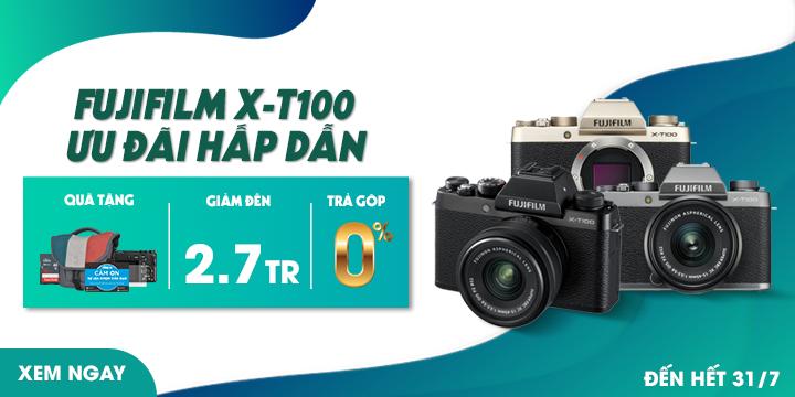 Fujifilm X-T100 Ưu đãi hấp dẫn