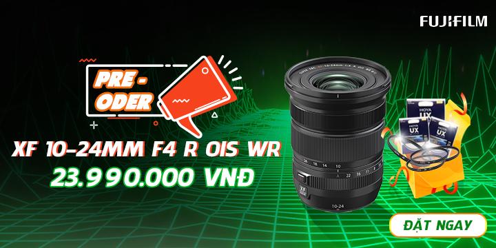 Pre-Oder Fujifilm XF 10-24mm nhận ngay quà tặng