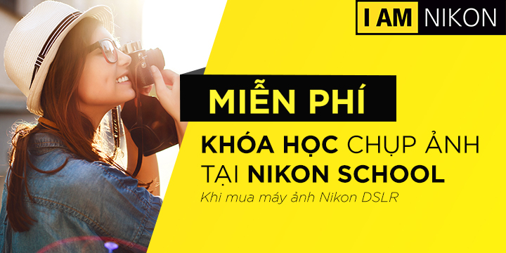 Nikon Khóa học sử dụng máy ảnh
