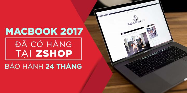 Macbook Pro 2017 Đã cập bến zShop