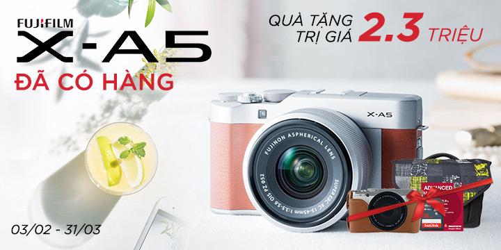 Fujifilm X-A5 da co hang tai zShop