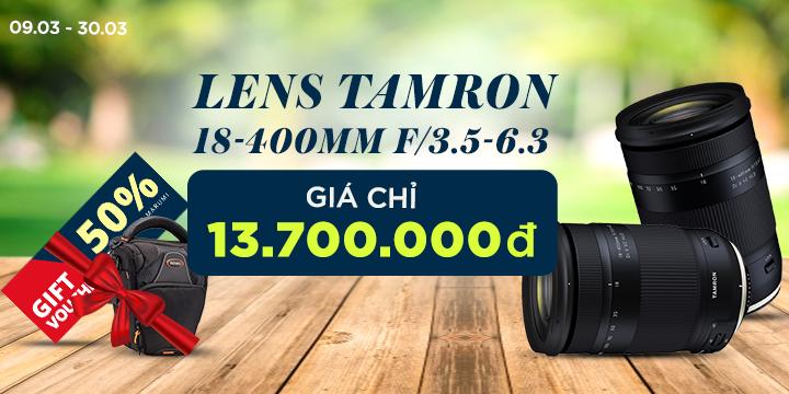 Len Tamron giá tốt tháng 3