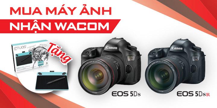 Canon 5ds vs 5dsr qua tang khung