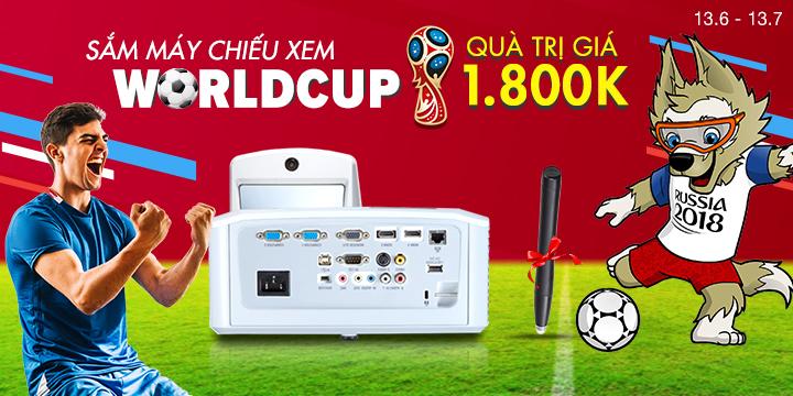 Mua máy chiếu đón worldcup 2018