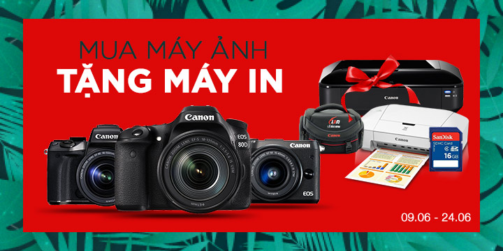 Mua Canon nhận máy in ảnh 2406