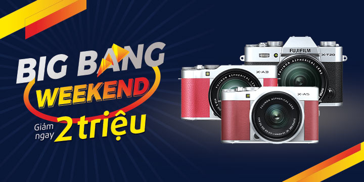 Fujifilm Big Bang giam den 2tr