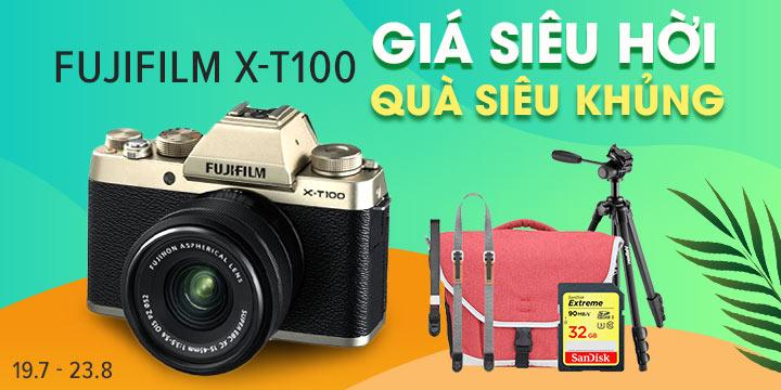Máy ảnh Fujifilm X-T100 giá cuc hot